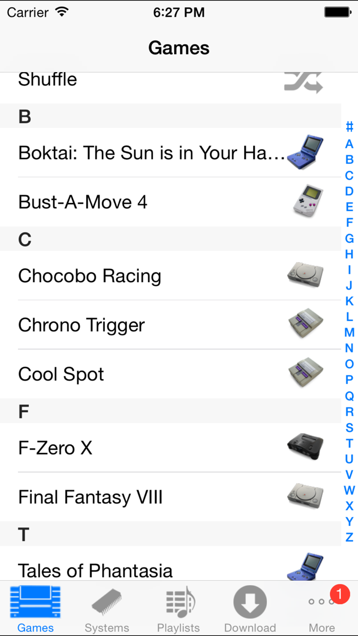 SnesMusic Screenshot