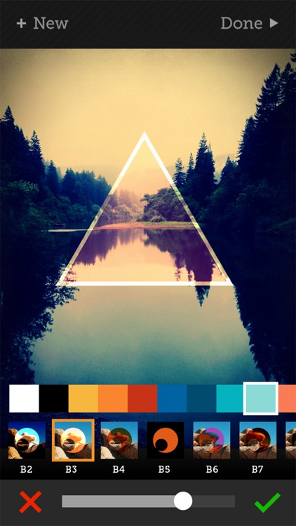 Tangent - Add Geometric Shape, Pattern, Texture, and Frame Overlays and Effects to Your Photos