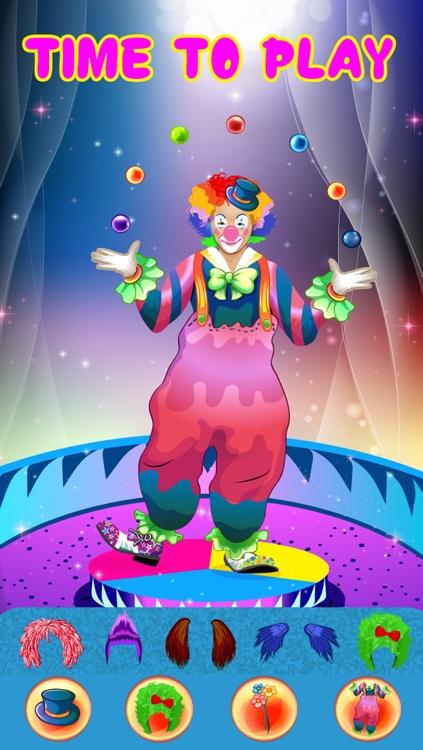 Crazy Circus Clowns - Dress Up Game