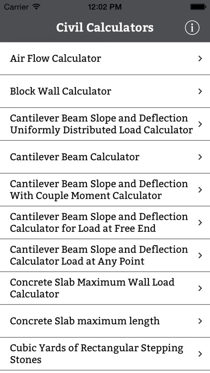 Civil Engineering Calculator