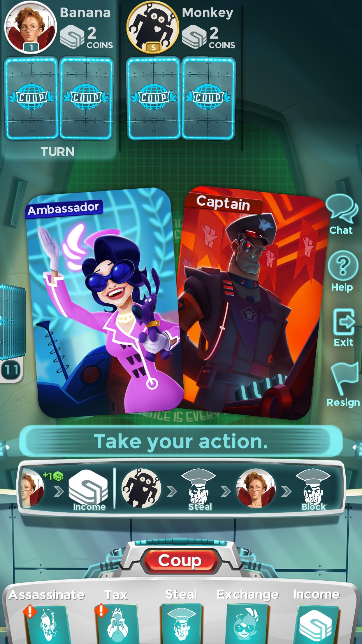 Coup Screenshot