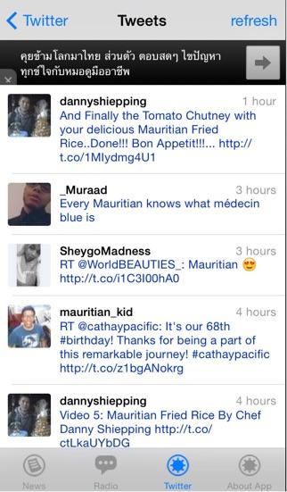 Mauritius News screenshot four
