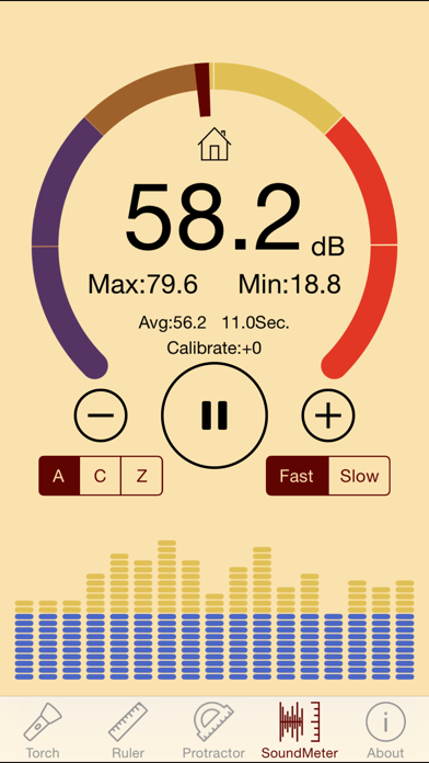ytools-flashlight,ruler,spirit level,protractor and sound level meter | App  Price Drops