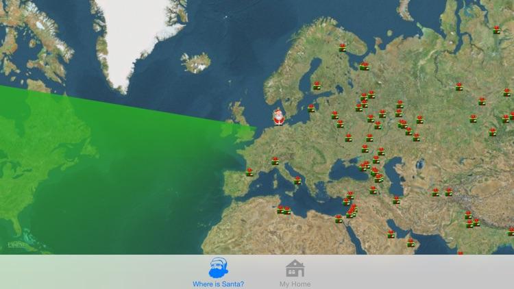 Where is Santa - Santa Tracker