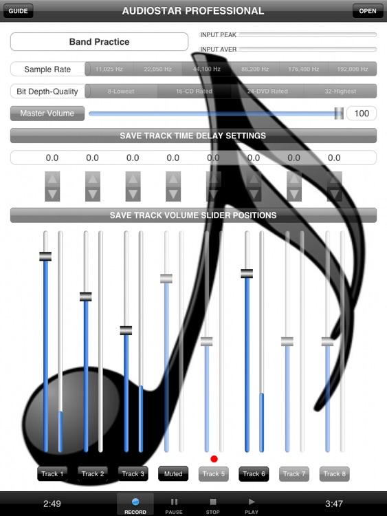 Audiostar Pro Multitrack Recording Mixer
