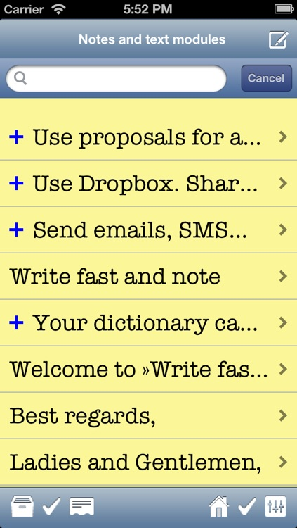 Write fast and note free screenshot-4