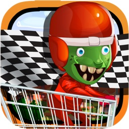 Zombie Highway Trolley Racing- My Pet Zombie Life Multiplayer Game For Kids