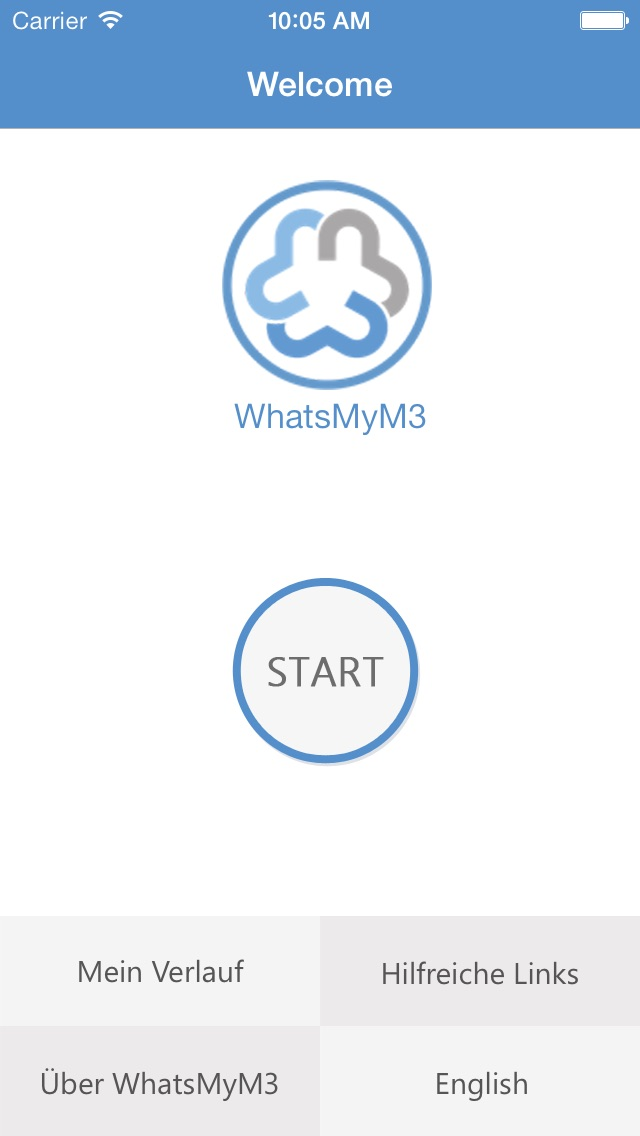 Screenshot for WhatsMyM3 in Germany App Store