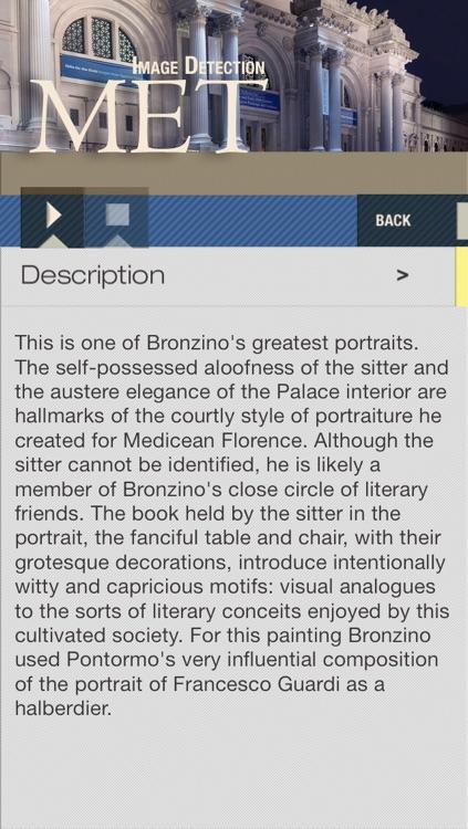 The Metropolitan Museum of Art MET ID Audio Guide screenshot-4