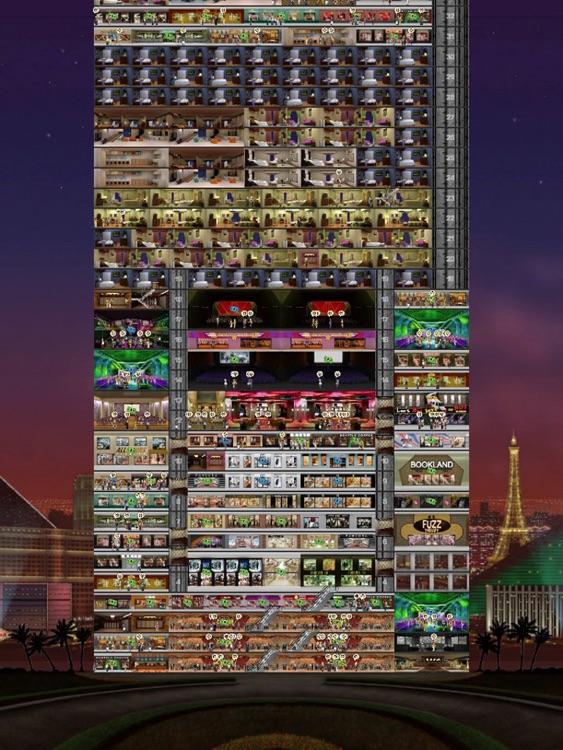 VegasTowers HD - Tower Building Sim screenshot-3