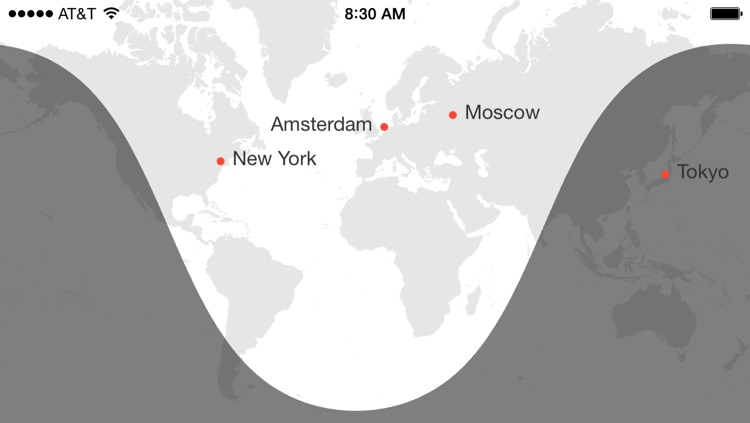 Miranda — Time Zone Converter, World Clock & Meeting Scheduler screenshot-4