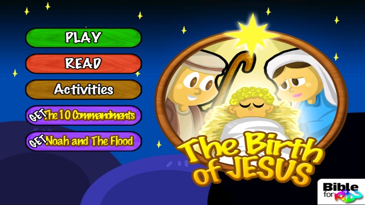The Birth of Jesus - Bible for Kids