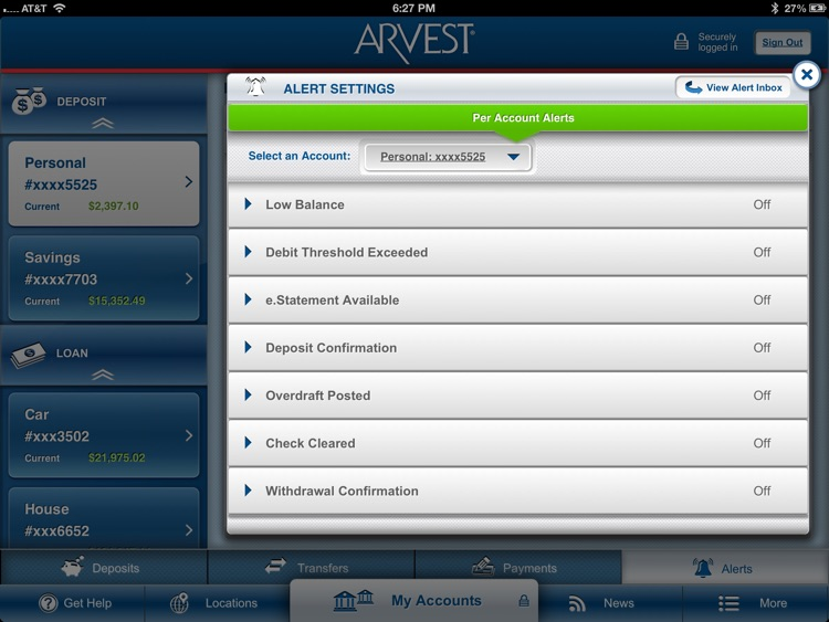 Arvest for iPad screenshot-3