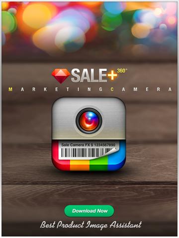 Screenshot #4 pour VENTE Caméra - la commercialisation des effets de caméra, plus éditeur de photos