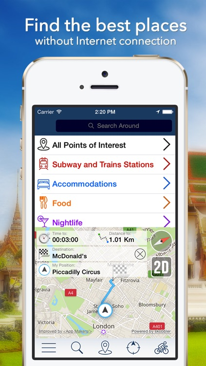 Budapest Offline Map + City Guide Navigator, Attractions and Transports
