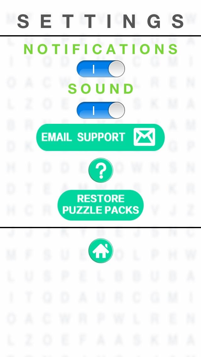 Word Search - Find Hidden Crosswords Puzzles Games Screenshot