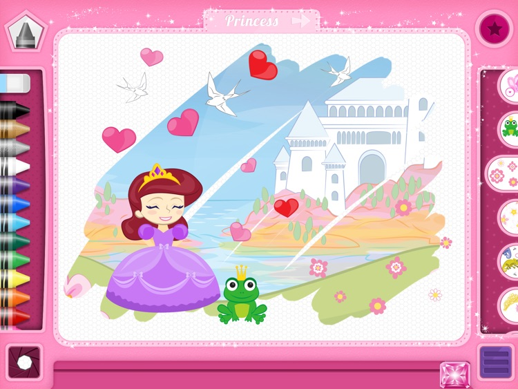PixieDust Lite - A Creative Drawing and Painting App for Kids, Free for iPad screenshot-3