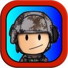 tapferer Soldat - werfen gefährliche Granate in der Schlacht kostenlos icon