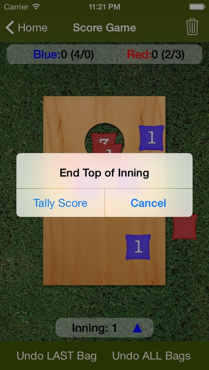 Cornhole Scorer screenshot-1