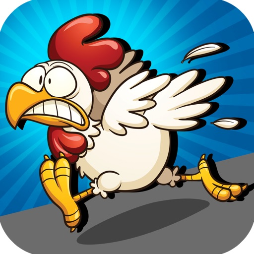 A Chicken Crossing The Road Free Game icon