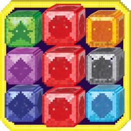 Mini Mine Match-3 - Candy Combat  Multi-player Edition 3D