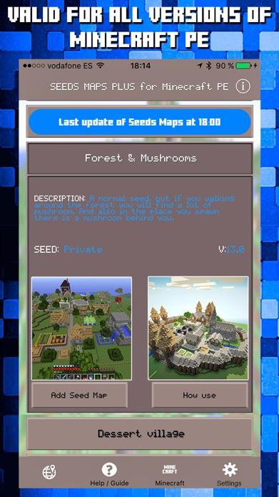 Seeds for Minecraft PE : Free Seeds Pocket Edition Screenshot