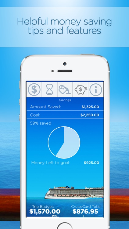 Cruise Card Control: Track and budget your onboard cruise line expenses screenshot-4