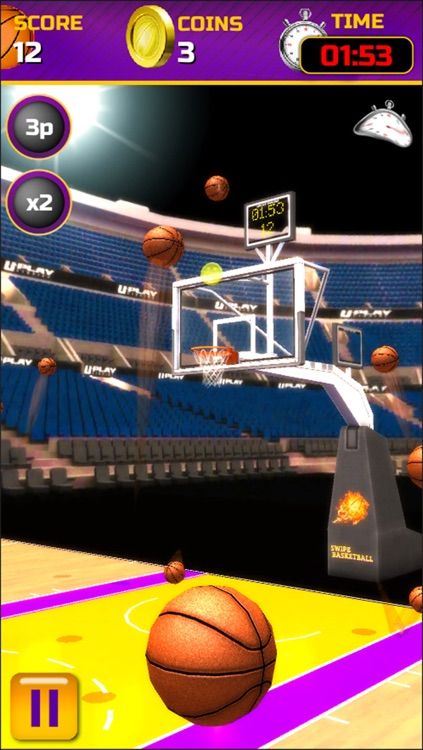 Swipe Basketball screenshot-1