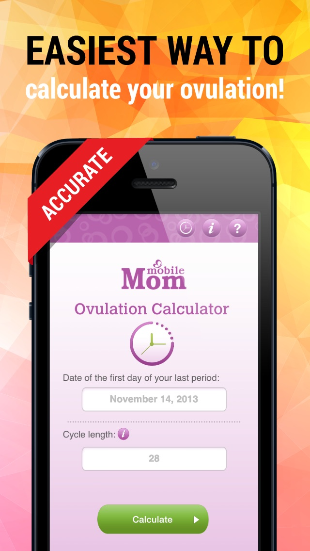 Ovulation Calculator & Fertility Tracker Screenshot