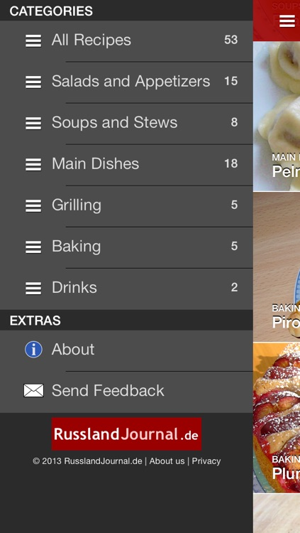 Russian Food Recipes screenshot-3