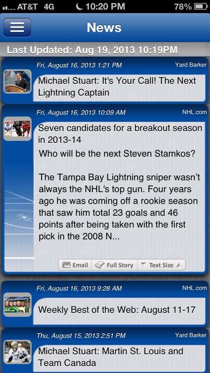 Tampa Bay Hockey Live screenshot-3