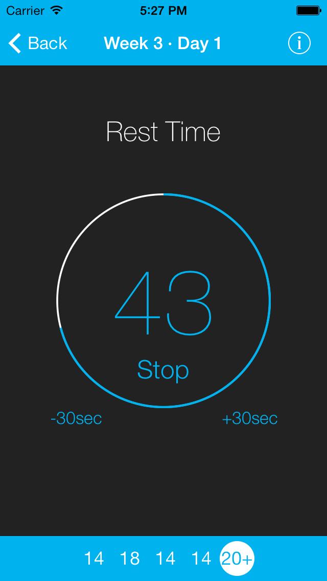 Just 6 Weeks: 100 Pushups Screenshot