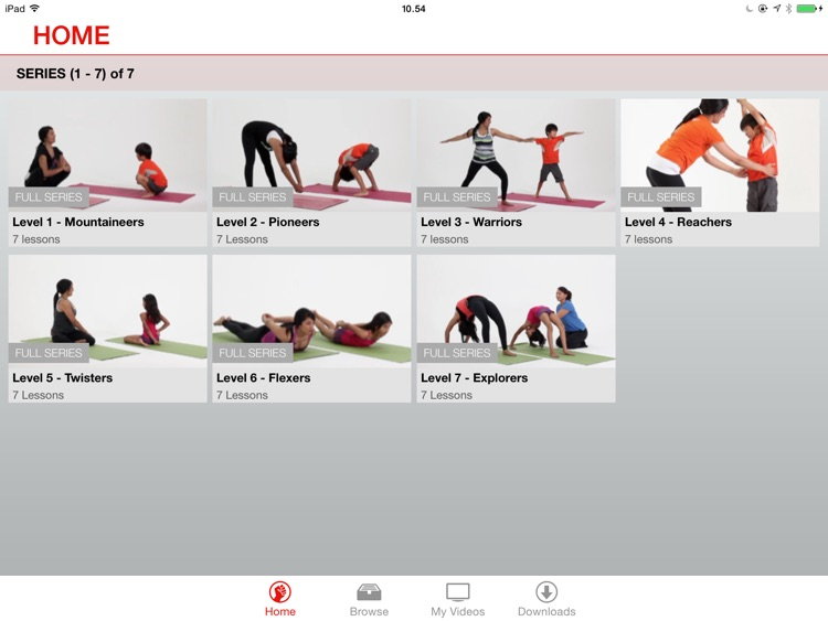 49poses - Children's Yoga Video Lessons for iPad