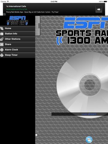 ESPN SPORTS RADIO 1300 WLXG-ipad-1