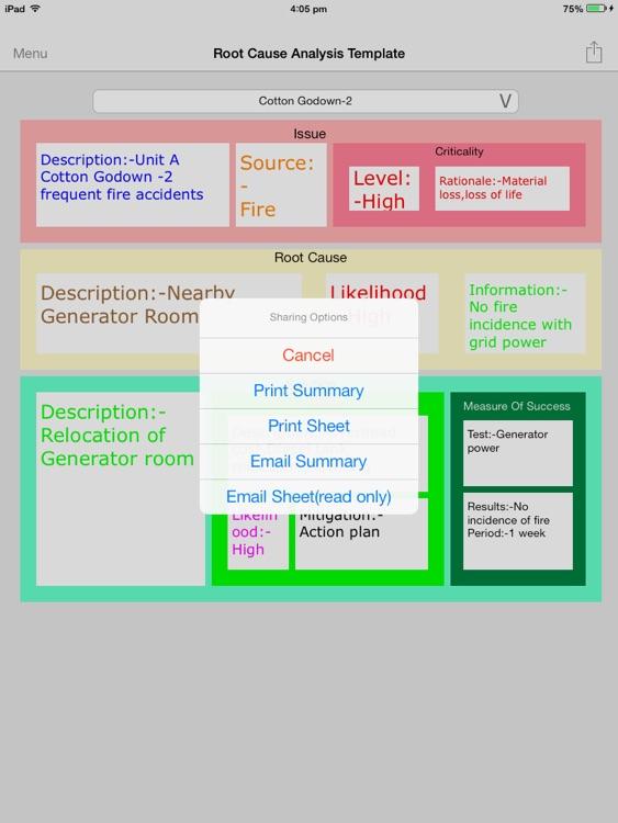 Root cause analysis Templates screenshot-4
