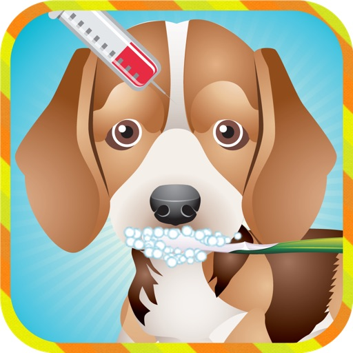Pet Dog Puppy Vet Doctor - Kids Games