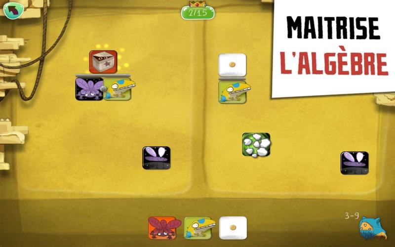 Screenshot #2 pour DragonBox Algebra 12+ - Le jeu multi-récompensé d'apprentissage des maths