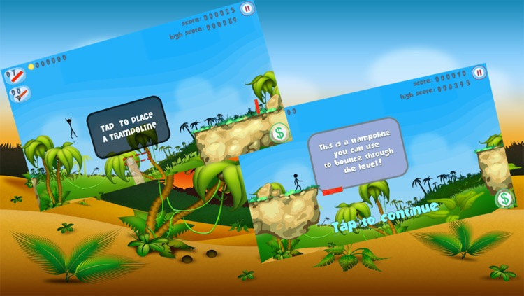Stick-Man Jump: Super Fight Jumper Trampoline War Adventure Game 2