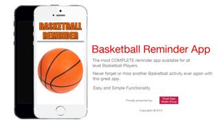 Basketball Reminder App - Stundenplan Ablaufplan Reminders-SportScreenshot von 1