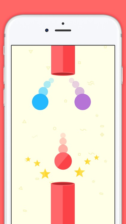 Paintball Rush - The Amazing Color Tap Game screenshot-0