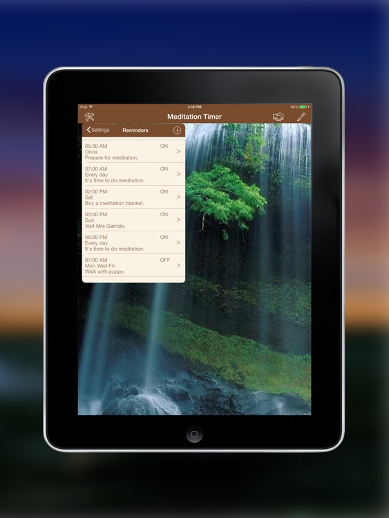 Meditation Timer for iPad screenshot-4