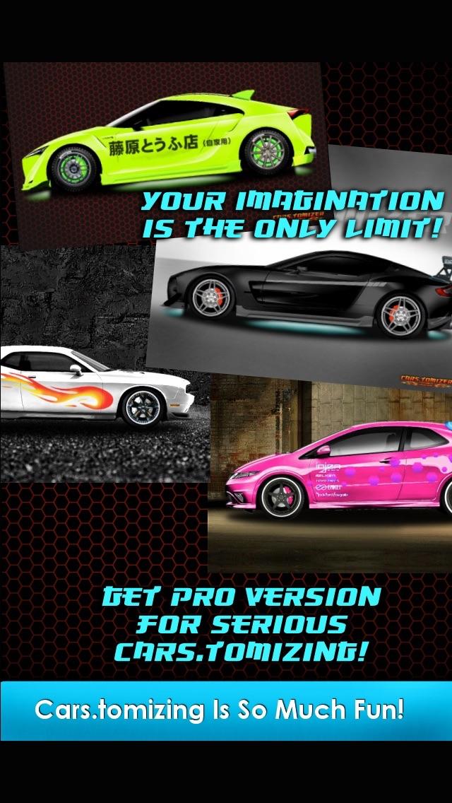 Cars.tomizer - Customize Your Ride! screenshot three