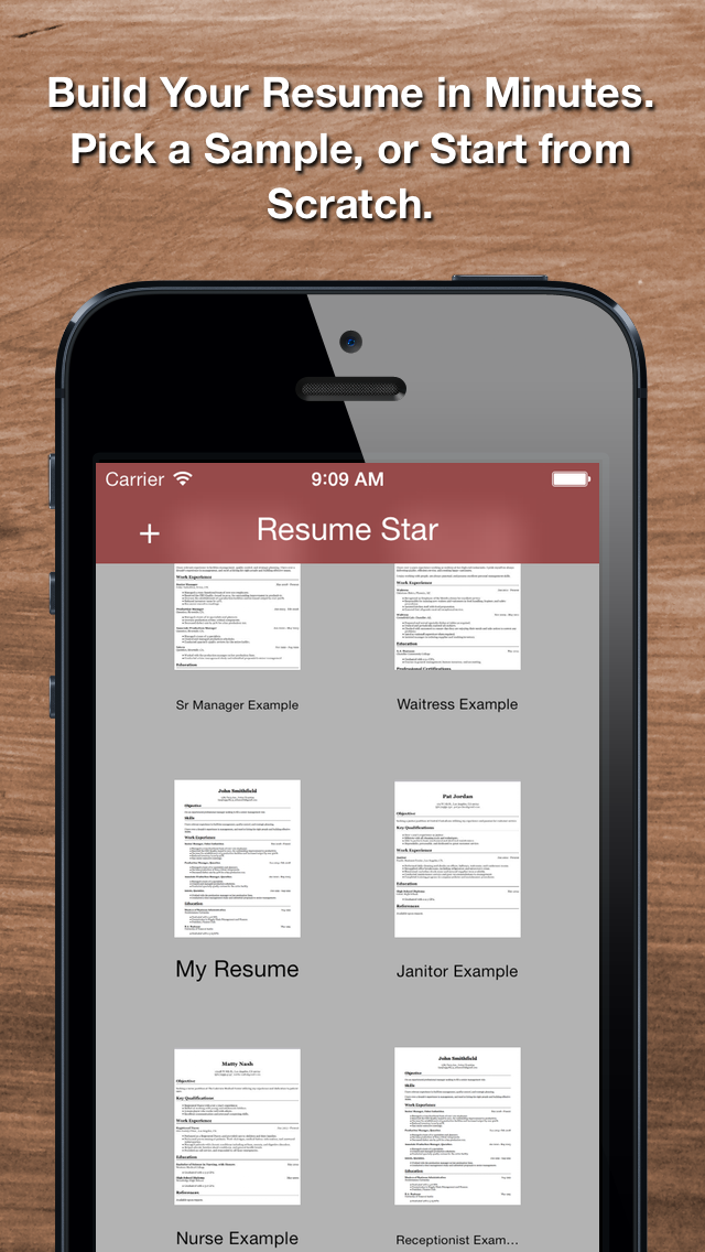 Download Resume Star: Pro CV Maker and Resume Designer with PDF Output to Help You Score that Job Interview and Advance your Career for Pc