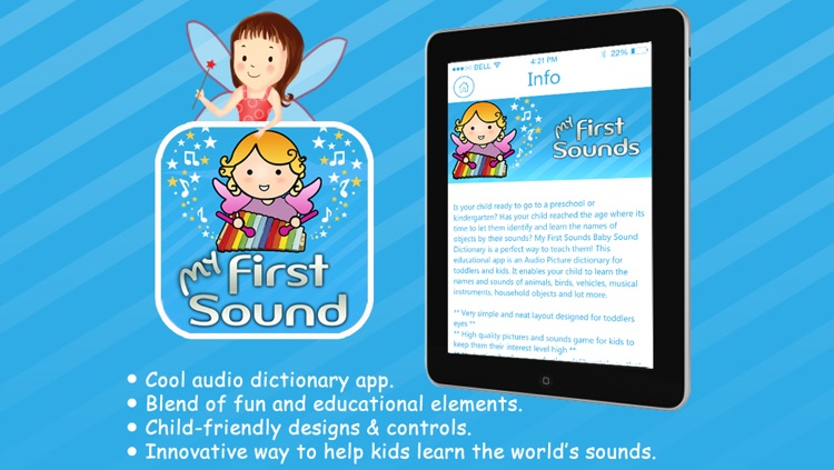 My First Sounds Baby picture and sound dictionary by Teknowledge