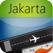 Jakarta Airport + Flight Tracker CGK Garuda Lion citilink Sriwijaya