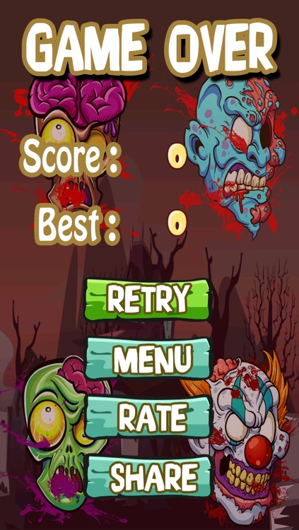 Angry Zomb-ie Head Protector-s: Save Your  Zombies Life From Blood Splat-ter Slaying Chainsaw-s FREE screenshot-4