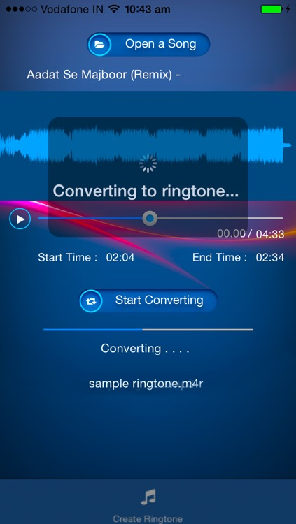 My Ringtone Pro - Create Ringtone From Songs