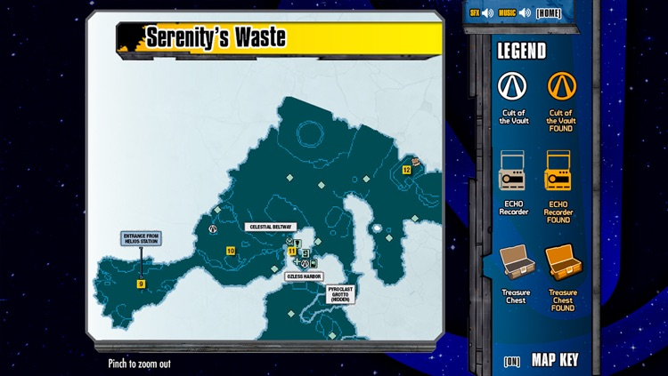 Official Map App for Borderlands: The Pre-Sequel screenshot-2
