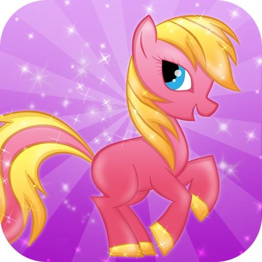 Неуклюжий Детские Пони Пробег: Мини Лошадь Принцесса крестовый поход, чтобы Побег Sandbox Пляж - Играть бесплатно игры