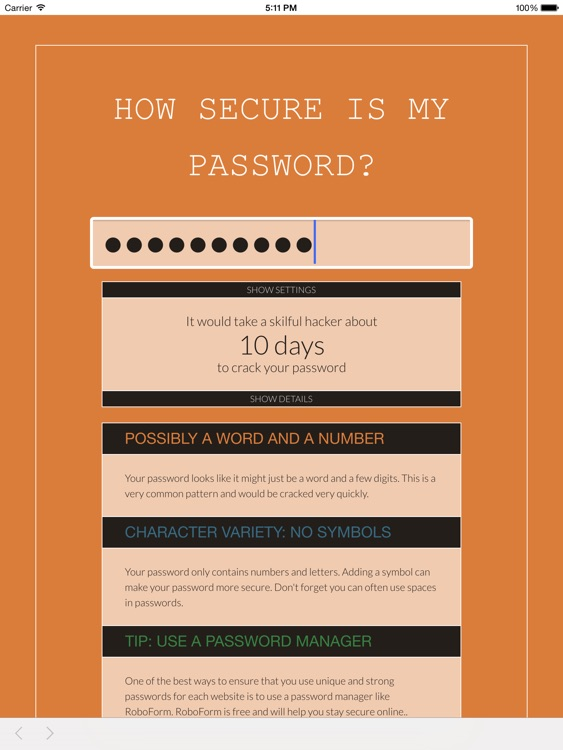 H0w Secure Is My Password By Leemox Inc